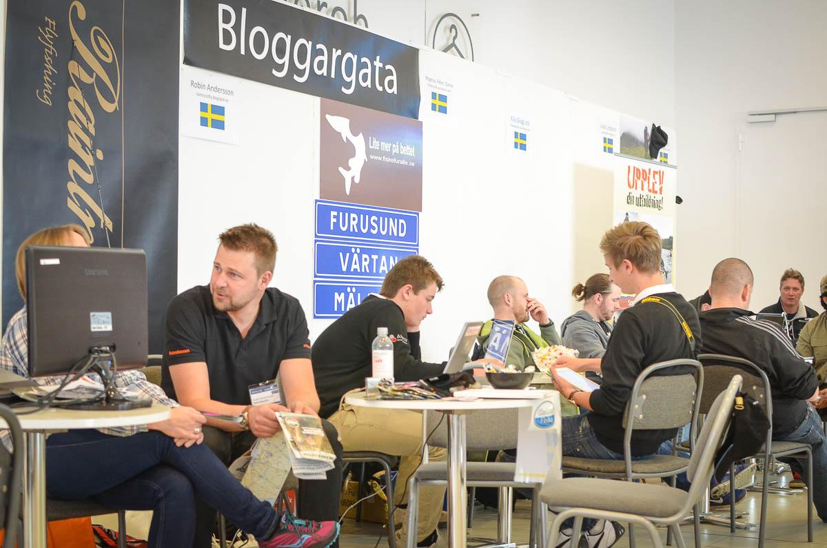 Bloggatan Sportfiskemässan 2014