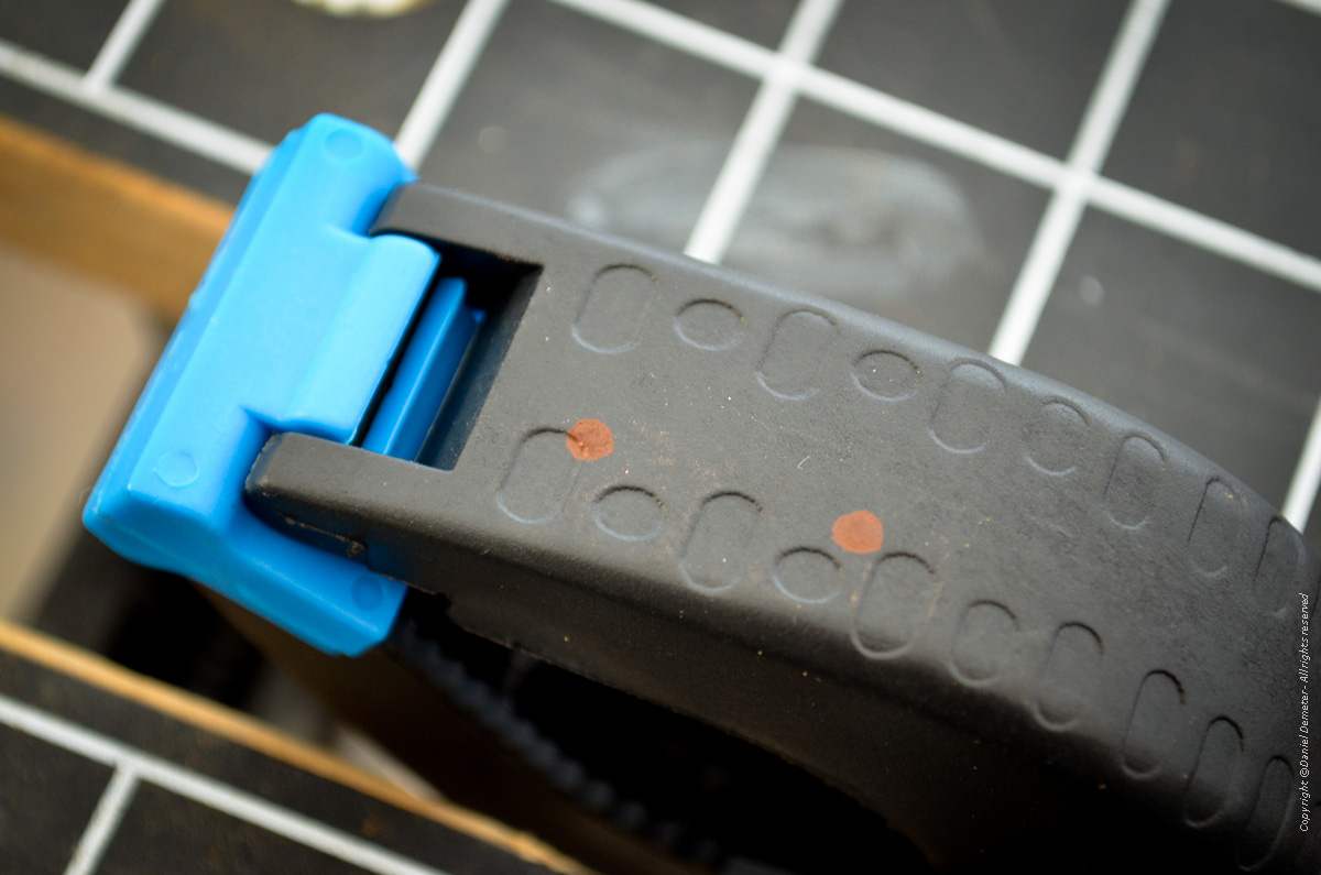 Tillverka spöhållare ismete - rita hål