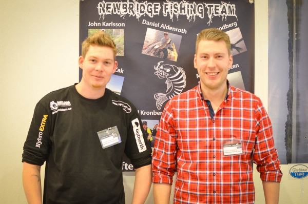 Newbridge Fishingteam @ Sportfiskemässan