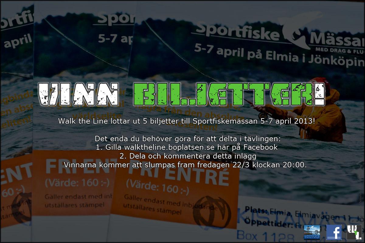 Biljetter Sportfiskemässan 2013